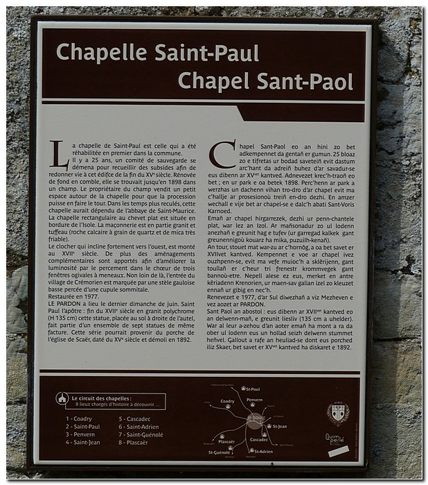 Chapelle saint paul scaer sp5